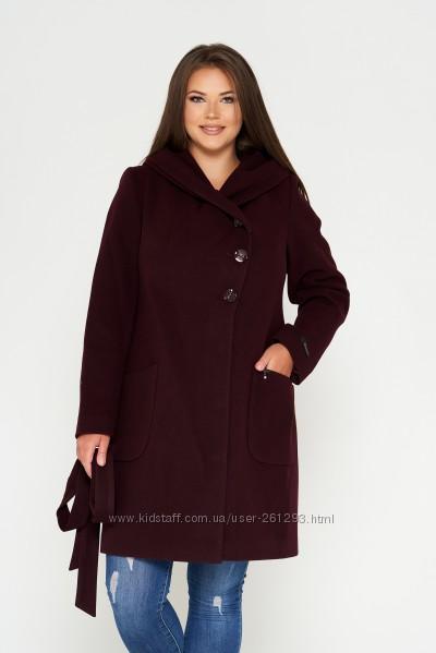 Пальто кашемировое Belanti 906, батальные размеры 54-60