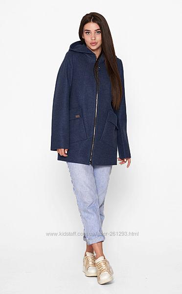 Короткое пальто на змейке BLNT 205