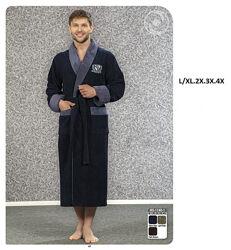 Бамбуковый халат Nusa люкс Турция, без капюшона