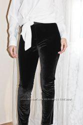Брюки H&M модный велюр