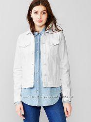 Белоснежная джинсовая куртка GAP Xs на S новая