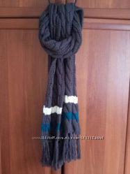 новый теплый шарф
