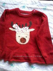 В наличии нарядный свитерок для девочки  18-24мес , из Англии