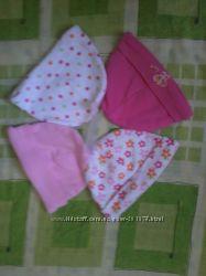 детские шапочки для новорожденных ,