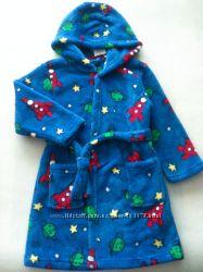 Тёплые халаты из велсофта для мальчиков