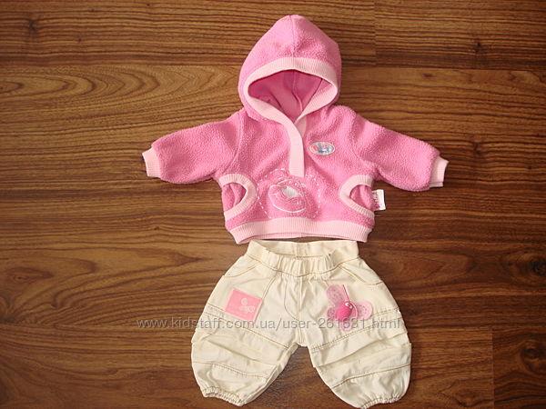 Брюки и флисовая кофта для куклы Baby Born