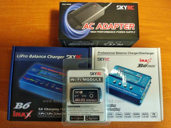 SkyRC imax B6 mini , адаптер 60Вт, Wi-Fi модуль, термодатчик. Оригинал