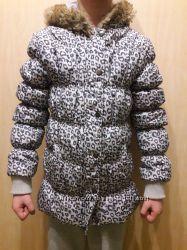Курточка Глория Джинс. Леопардовый принт.