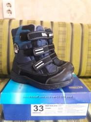 Зимние ботинки для мальчика. B&G. 33 размер.