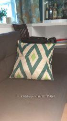 Декоративная наволочка на подушку 45х45 - геометрический рисунок