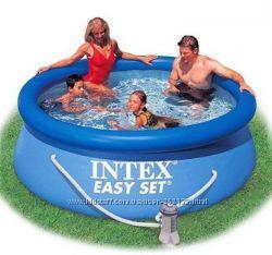 Надувной бассейн Intex 28112 244х76 см