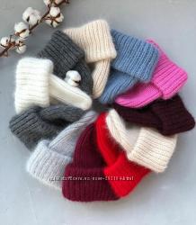 Очень теплые шапочки