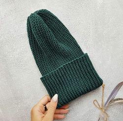 Стильные вязаные шапочки и комплекты для девочек и мальчиков