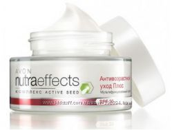 Крем  для лица Nutra Effects  Avon Антивозрастной уход Плюс