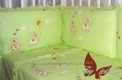 Детские красочные копмлекты в кроватку ТМ TAG