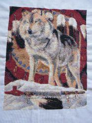 Вышивка Картина Волк Мира