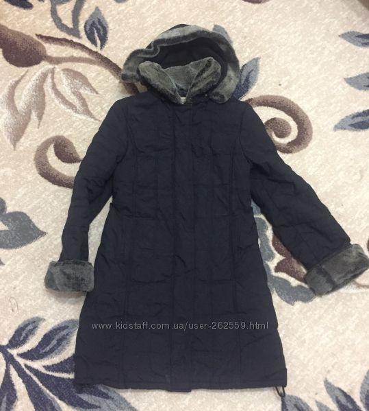 Стильное пальто на синтепоне.