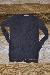 Чёрная и серая кофты на пуговицах Zara