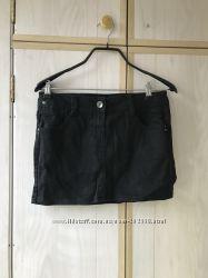 Чёрная мини юбка pimkie