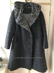 Зимнее пальто большого размера