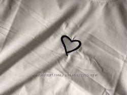 Стильная футболочка с сердцем
