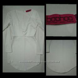 Белое платье от Boohoo