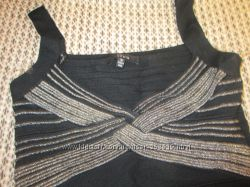 Бандажное маленькое черное шикарное платье утяжка