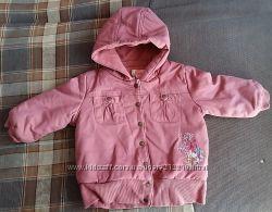 продам теплую курточку веснаосень на 2-3года