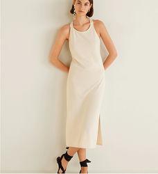 Красивое трикотажное платье Mango