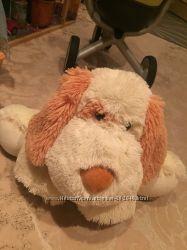 Мягкая игрушка собака хорошее состояние можно на подарок