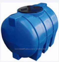 Пластиковые емкости, бочки для воды