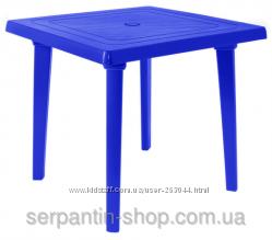 Стол квадратный пластиковый  80х80 см