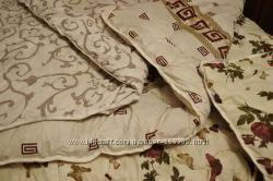 Двуспальное одеяло из овечьей шерсти в сатине, качество