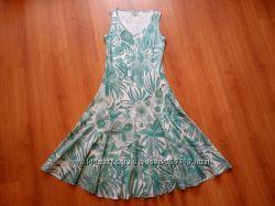 Платье летнее хлопок бренд Marks&Spencer Per Una рр 12 14