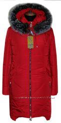 зимний пуховик с чернобуркой 44-56 размер, в наличии