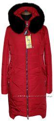 зимняя курточка, мех песец 44-56размеры, в наличии
