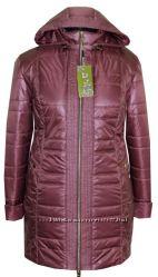 демисезонная курточка 54-68размеры, длина 85см