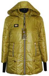 очень стильная деми курточка 46-58размер