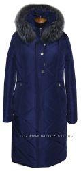 пальто зимнее 50-66размер, длина110см, в наличии