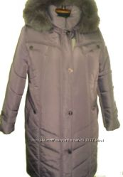 зимняя курточка большого размера 52-66р длина100см