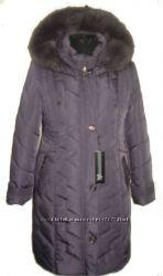 Шикарное зимнее пальто для пышных форм 52-66р 100см