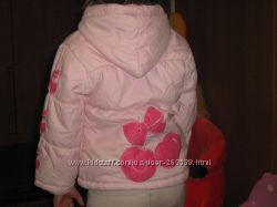 Куртка деми ТМ Барби на рост 100см
