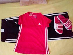 Спортивный костюм адидас Adidas оригинал для модной девченки