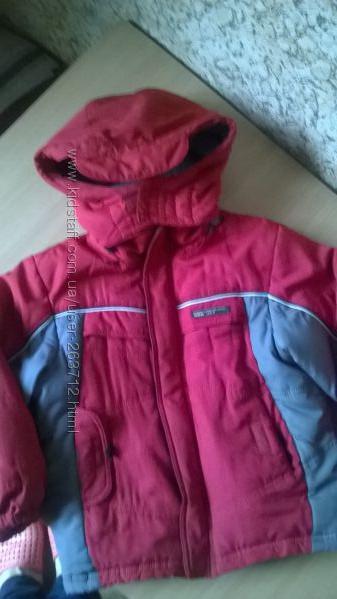Зимняя курточка для мальчика р. 116