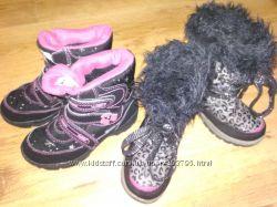 Сапоги -ботинки зимние F&F не промокают до -15
