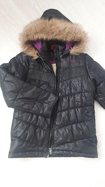 Куртка puma 140р. , состояние отличное