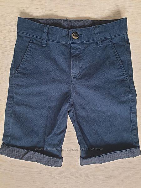 Шорты 5-6-7лет, темно-синие, 110-116, 122