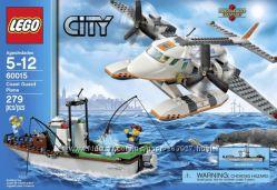Редкий набор Lego City 60015 Самолёт береговой охраны