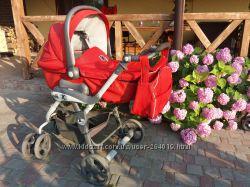Итальянская коляска CAM  ПОДАРОК 3 бодика Carter&acutes
