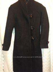 Теплое пальто шерсть 46 размер